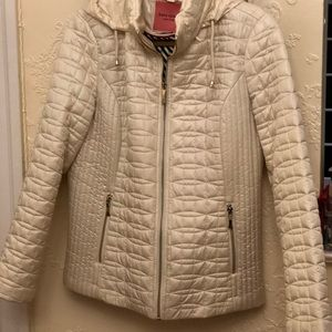 Kate Spade  New York bow-quilt Moto jacket..